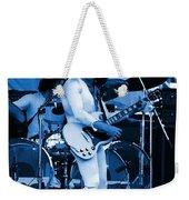 Boc #10 Enhanced In Blue Weekender Tote Bag
