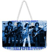 Boc #103 In Blue With Text Weekender Tote Bag