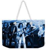 Boc #3 Artistically Enhanced In Blue Weekender Tote Bag