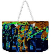 Boc #3 Enhanced In Cosmicolors Crop 2 Weekender Tote Bag