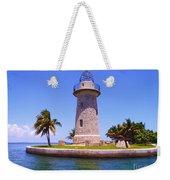 Boca Chita Lighthouse Weekender Tote Bag