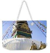 Bodhnath Stupa Weekender Tote Bag