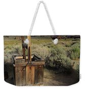 Bodie Ghost Town At The Well Weekender Tote Bag