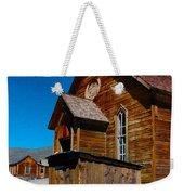 Bodie Ghost Town Church Weekender Tote Bag