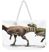 Body Size Comparison Weekender Tote Bag
