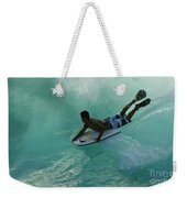 Body Surfer Weekender Tote Bag