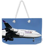 Boeing 747-400 Of Thai International Weekender Tote Bag