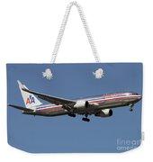 Boeing 767 Of American Airlines Weekender Tote Bag