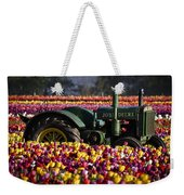 Bogged Down By Color Weekender Tote Bag