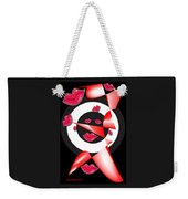 Bogie Lips Lady Red Black White Expressions   Weekender Tote Bag