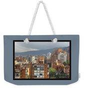 Bogota City View Weekender Tote Bag