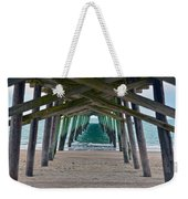 Bogue Banks Fishing Pier Weekender Tote Bag