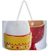 Boiled Eggs In Cups Weekender Tote Bag by Elena Elisseeva