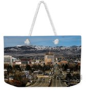 Boise Idaho Weekender Tote Bag by Robert Bales