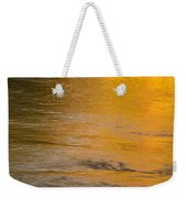 Boise River Autumn Abstract Weekender Tote Bag
