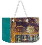 Book Cover Encaustic Weekender Tote Bag