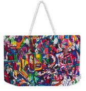 Bold As A Leopard Weekender Tote Bag