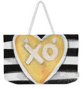 Bold Love Weekender Tote Bag