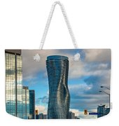 Bold Towers Weekender Tote Bag