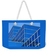 Boldly Blue Weekender Tote Bag