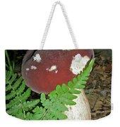 Bolete Mushroom And Fern Weekender Tote Bag