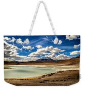 Bolivia Lagoon Clouds Framed Weekender Tote Bag