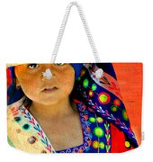 Bolivian Child Weekender Tote Bag