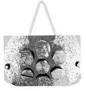 Bolted Silver Weekender Tote Bag