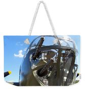 Bomber's Cockpit Weekender Tote Bag