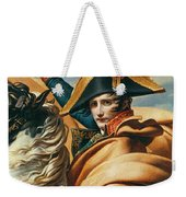 Bonaparte Crossing The Alps Oil On Canvas Detail Of 18491 Weekender Tote Bag