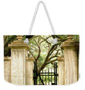 Bonaventure Cemetery Gate Savannah Ga Weekender Tote Bag
