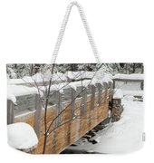 Bond Falls Bridge Weekender Tote Bag