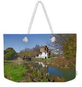 Bonds Mill Area Stroudwater Canal Weekender Tote Bag