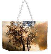Bonfire And Olive Tree Weekender Tote Bag