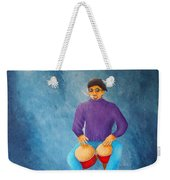 Bongo Man Weekender Tote Bag by Pamela Allegretto