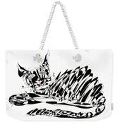 Bonifacy Cat Weekender Tote Bag