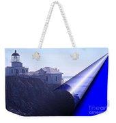 Bonita Lighthouse Landscape Weekender Tote Bag