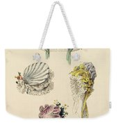 Bonnets For An Occasion, Fashion Plate Weekender Tote Bag