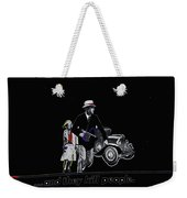 Bonnie And Clyde Poster 1967 Death Valley California 1968-2009 Weekender Tote Bag