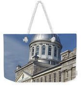 Bonsecours Market Montreal Weekender Tote Bag