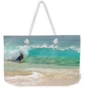 Boogie Board Surfing Weekender Tote Bag