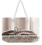 Book Heart Series 1 Weekender Tote Bag