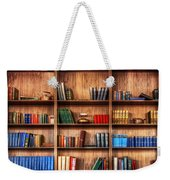 Book Shelf Weekender Tote Bag
