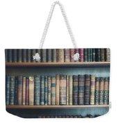 Bookshelf Weekender Tote Bag
