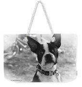 Boomer Boston Terrier Weekender Tote Bag