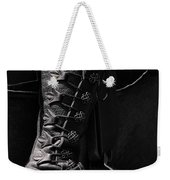 Medieval Faire Boot Detail Weekender Tote Bag