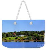 Booth Bay Weekender Tote Bag