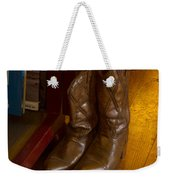 Boots Not Made For Walking Weekender Tote Bag