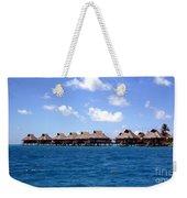 Bora Bora Lagoon Weekender Tote Bag