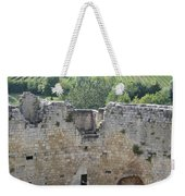 Bordeaux Castle Ruins With Vineyard Weekender Tote Bag